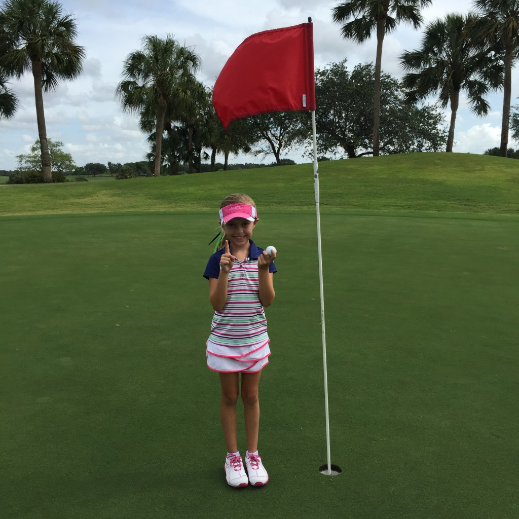 Madison's First Hole In One